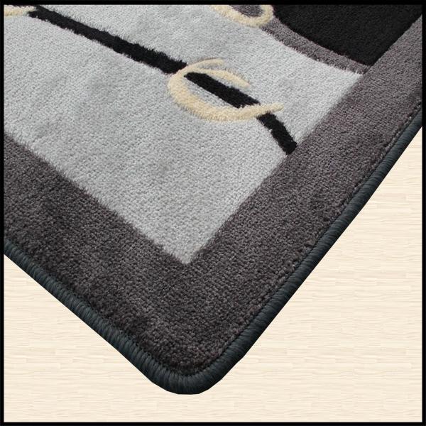 Prova i tappeti per il bagno con decoro astratto e - Tappeti per il bagno originali ...