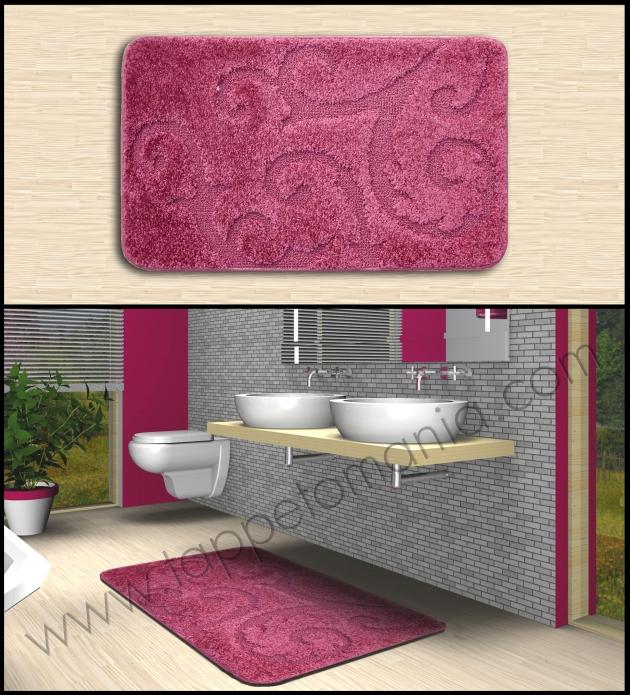 Tappeti che arredano il bagno design liberty tappeti - Tappeti bagno design ...