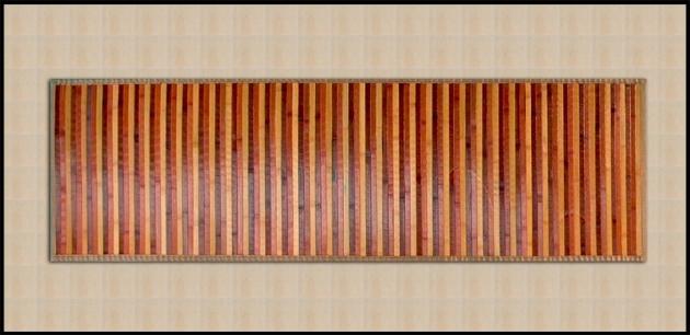 Tappeti bamb azzurro rosso arancione marrone beige tappeti bamboo per il bagno - Arreda il tuo bagno ...