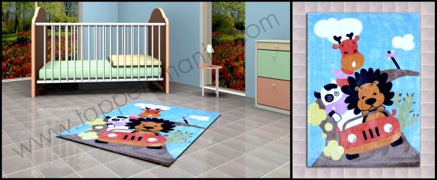 Arreda la camera dei bambini decori vari prezzi bassi tappeti bamboo per il bagno - Tappeti anallergici ...