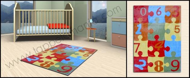Arreda la camera dei bambini decori vari prezzi bassi on line tappeti bamboo per il bagno - Tappeti anallergici ...